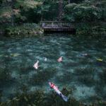 岐阜県関市「モネの池(根道神社の池)」の行き方と撮影スポット