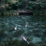 モネの池(根道神社の池)