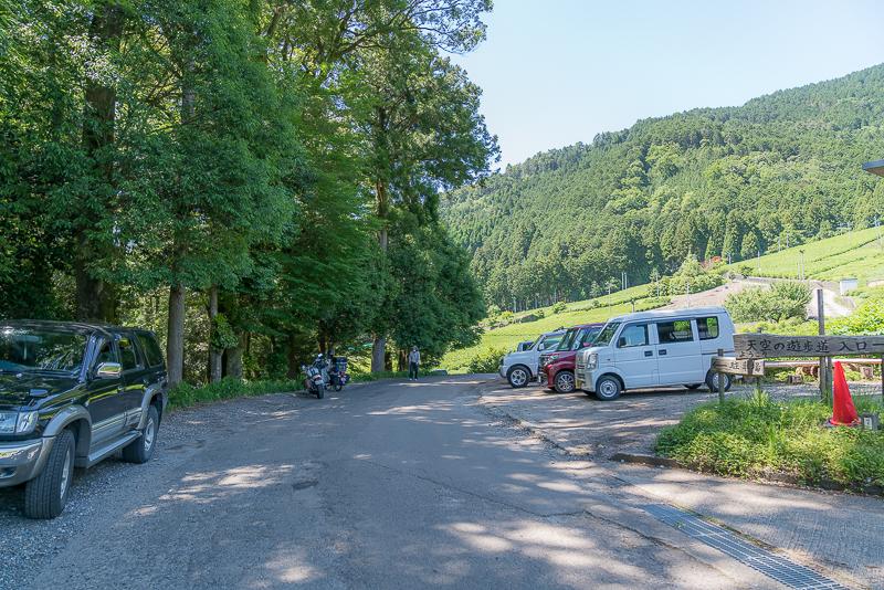 天空の茶畑(岐阜のマチュピチュ)アクセスと駐車場
