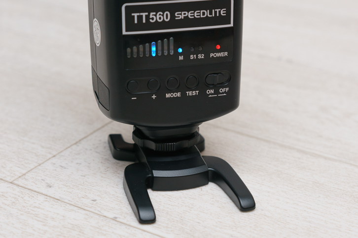 ストロボ「TT560」の使い方