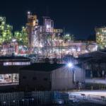 三重県四日市市「日永跨線橋(工場夜景)」の行き方と撮影スポット