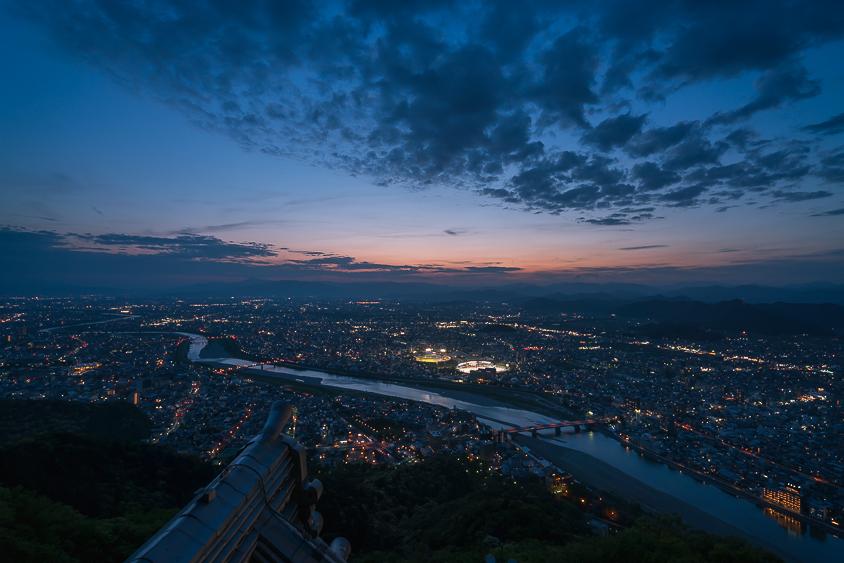 金華山・岐阜城(夜景)