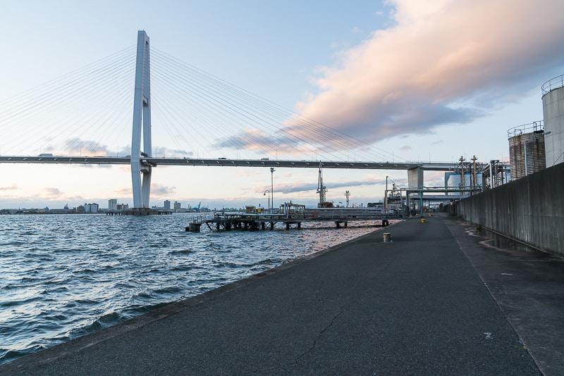 名港トリトン(夜景)撮影スポット