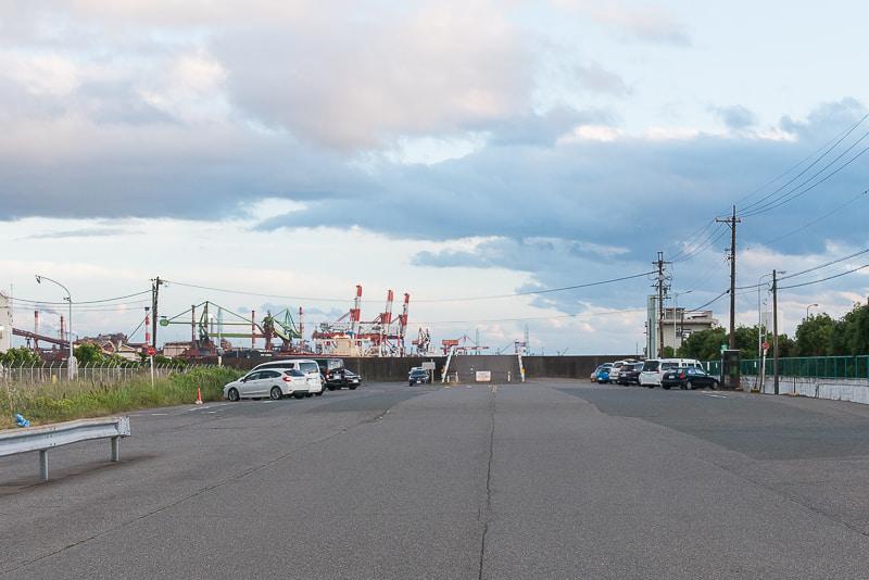 名古屋港潮見町駐車スペース
