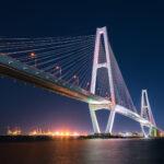 愛知県名古屋市「名港トリトン(夜景)」の行き方と撮影スポット