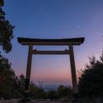 尾張白山神社(夜景)