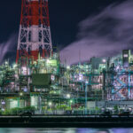 四日市ドーム(工場夜景)5