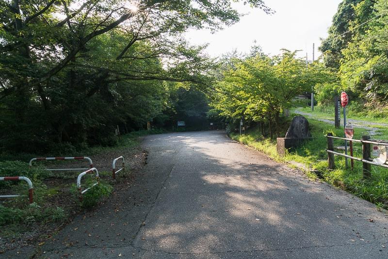 尾張白山神社 駐車場