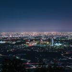 愛知県小牧市「尾張白山神社(夜景)」の行き方と撮影スポット