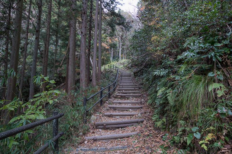 岩門の滝遊歩道