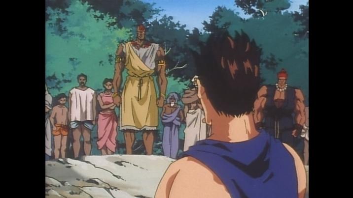 エピソード13(リュウとケンがインドの村・アヒチャトラを去る時)