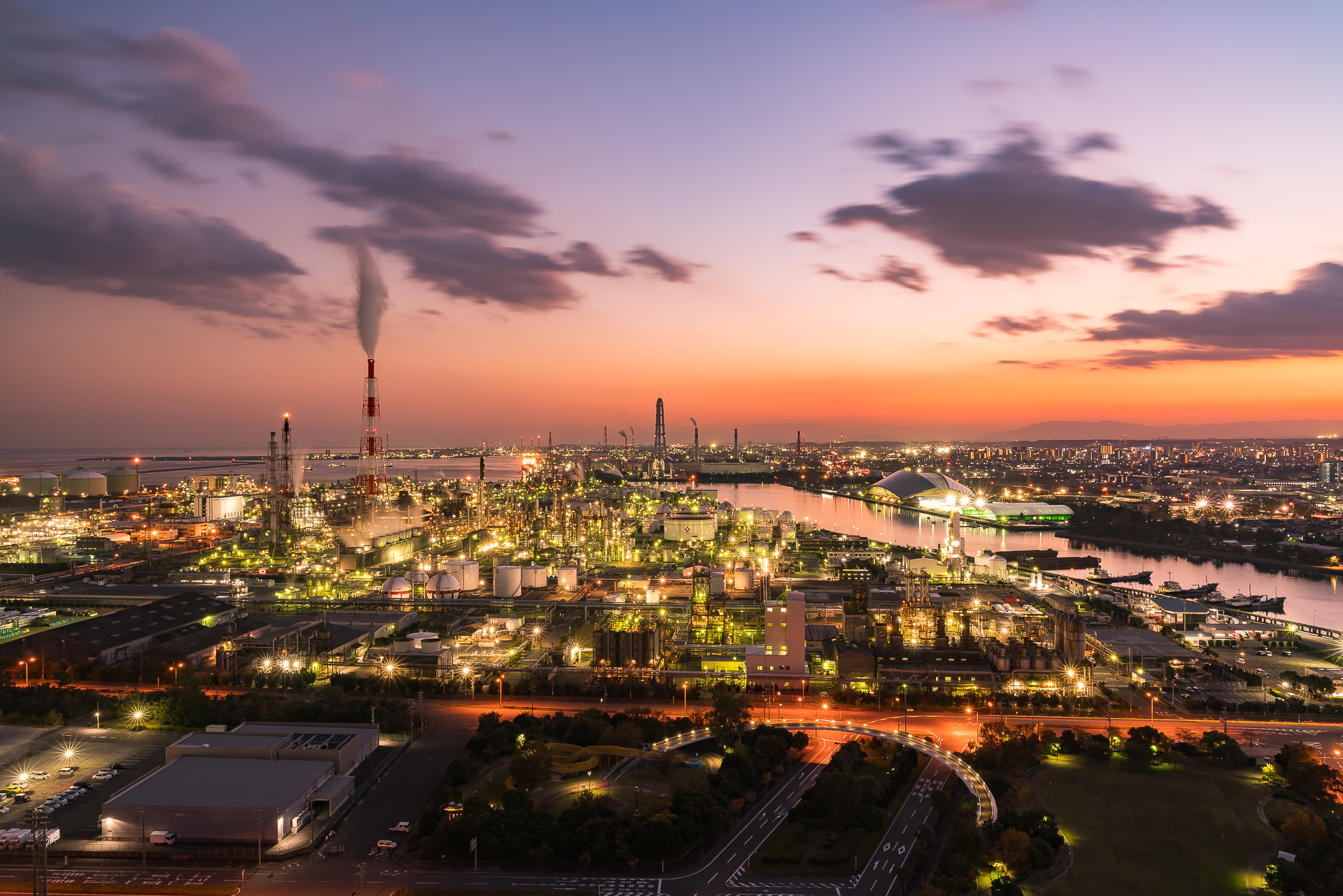三重県「四日市工場夜景(うみてらす14)」の行き方と撮影スポット