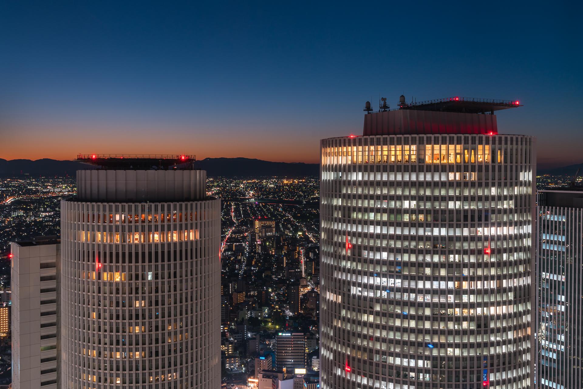 愛知県名古屋市「スカイプロムナード(夜景)」の行き方と撮影スポット