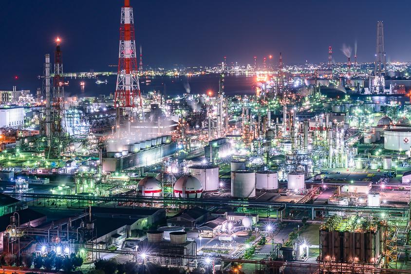 工場夜景の撮り方とカメラの設定