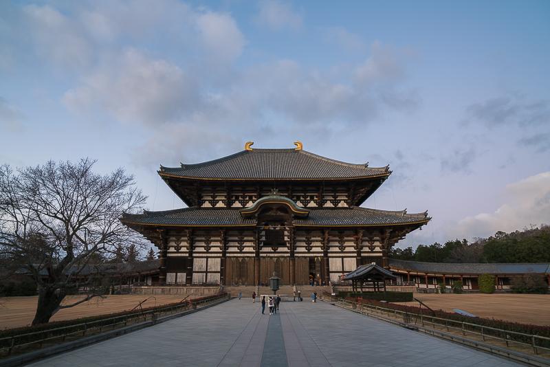 東大寺(初詣)注意