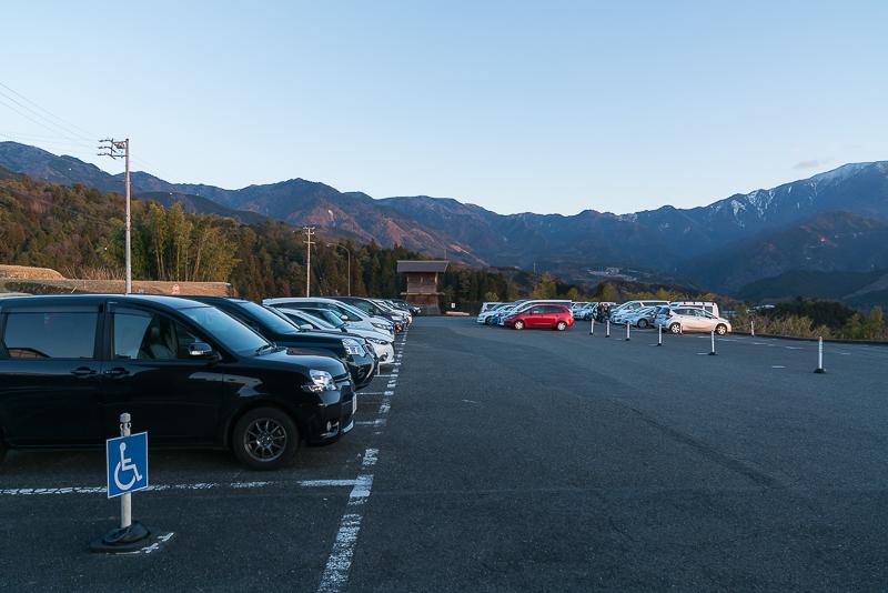 馬籠宿(氷雪の灯祭り)駐車場