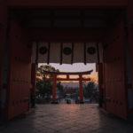 伏見稲荷大社(楼門)1