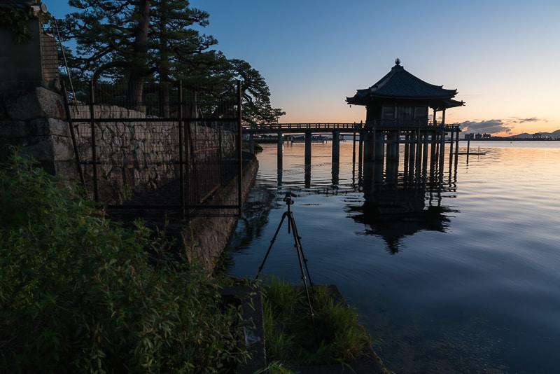 浮御堂(満月寺) 撮影スポット