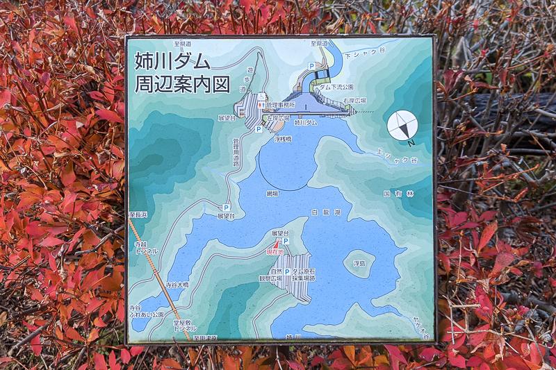 姉川ダム浮島 注意