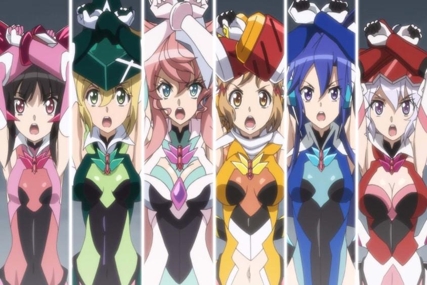 パチンコ戦姫絶唱シンフォギア:リーチ演出に使われているアニメのシーン