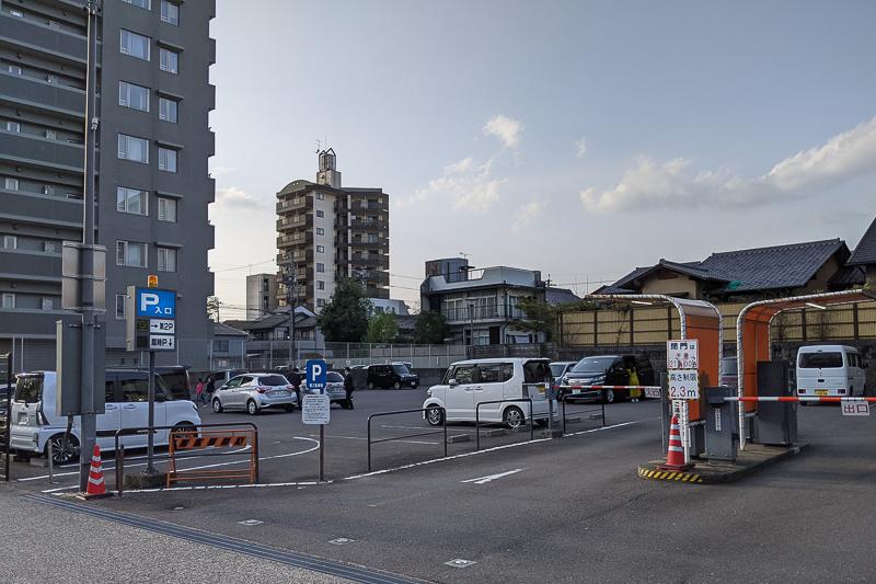 岐阜公園第2駐車場