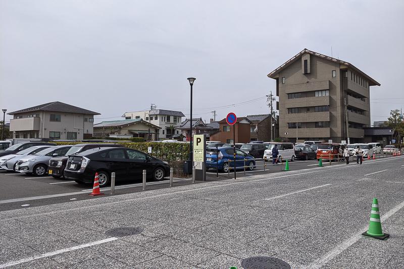 奥の細道むすびの地第一駐車場
