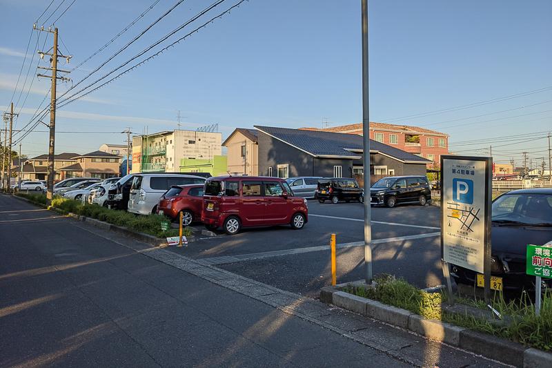 羽島市文化センター第4駐車場