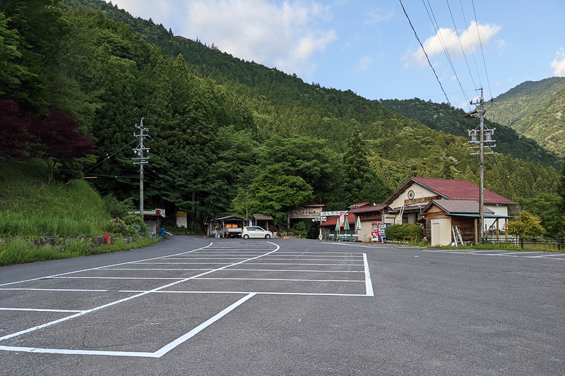 付知峡駐車場